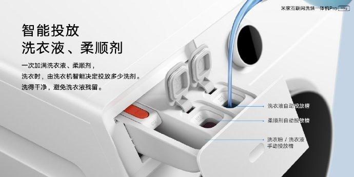 Недостатки устранены. Xiaomi представила новую стиральную и сушильную машину Mijia Internet Pro