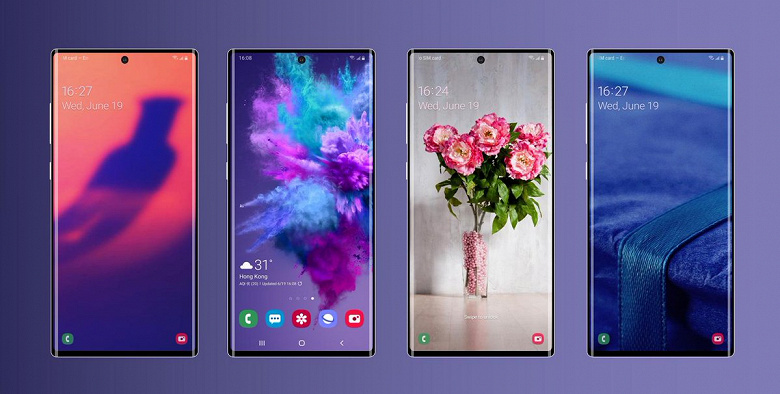 Samsung Galaxy Note10 лишится разговорного динамика. Новые изображения