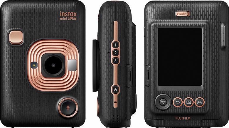 Камера моментальной фотографии Fujifilm instax mini LiPlay может связывать со снимками голосовые сообщения