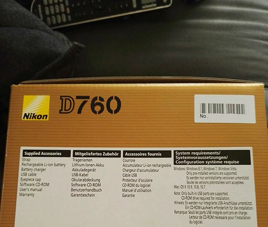 Слухи переносят выпуск камеры Nikon D760 на будущий год