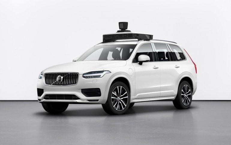 Uber представляет самоуправляемый автомобиль Volvo нового поколения
