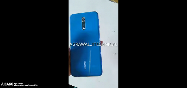Realme 4 Pro с коробкой в новом видео до анонса
