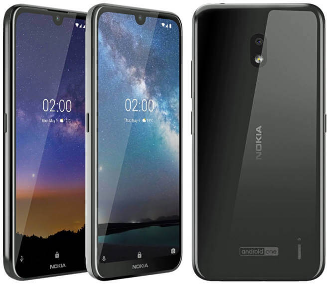 Представлен смартфон Nokia 2.2: гарантия двухлетних обновлений Android, SoC Helio A22 и камера разрешением 13 Мп за $100