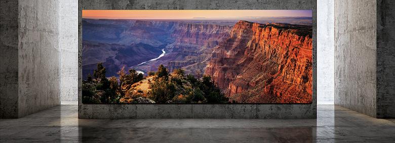 Диагональ 292 дюйма и разрешение 8К: Samsung представила свой новый телевизор
