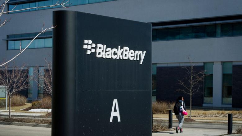 Минувший квартал оказался убыточным для BlackBerry