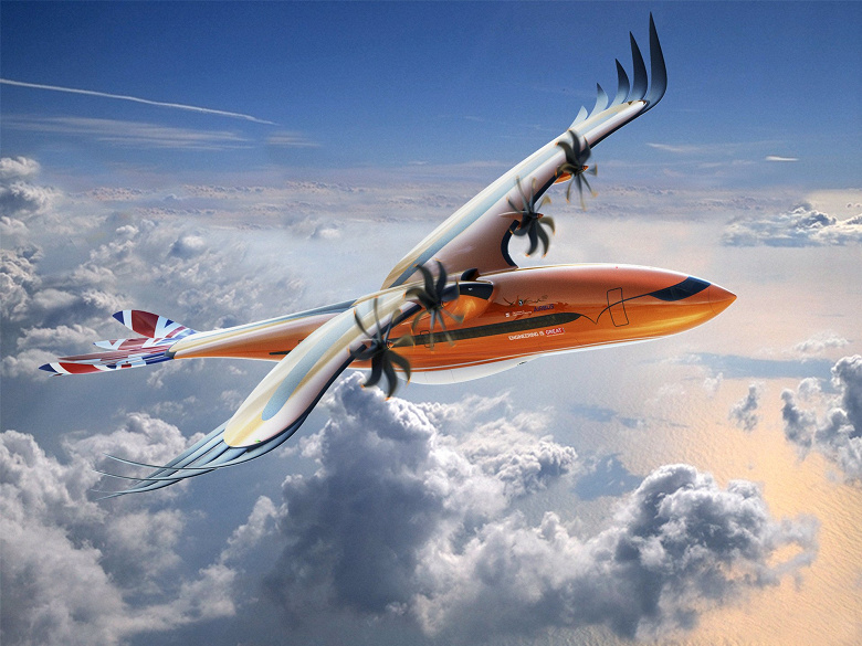 Airbus Bird of Prey — концепт гибридного самолёта с крыльями и перьями