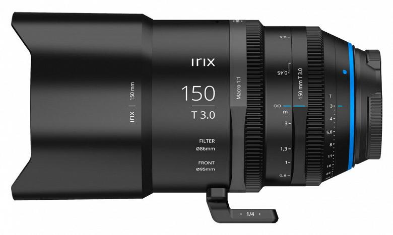 Названы цены и срок начала продаж объектива Irix Cine 150mm T3.0 Macro 1:1