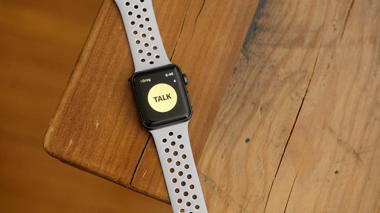Функция рации вернулась в умные часы Apple Watch