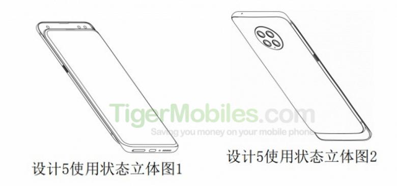 Патентные изображения Xiaomi Mi Mix 4 подтверждают четверную круглую камеру и знакомый форм-фактор