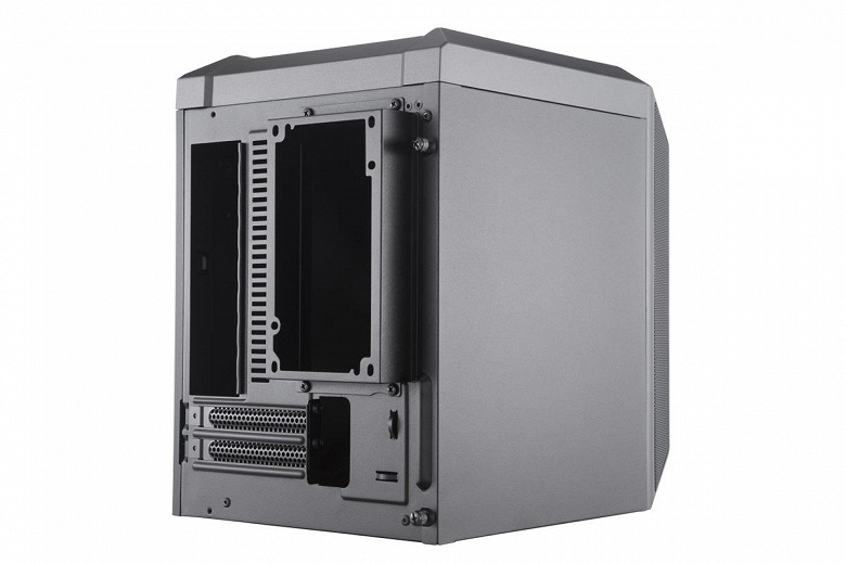 Корпус Cooler Master MasterCase H100 предназначен для сборки ПК на плате типоразмера mini-ITX