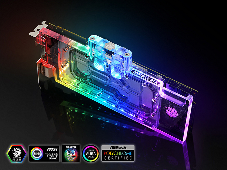 Один для всех. Водоблок Bitspower Lothan подходит для 3D-карт серии Nvidia GeForce RTX 20