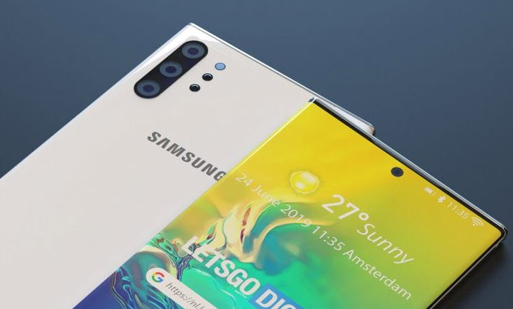 Samsung Galaxy Note10 получит камеру DepthVision Lens