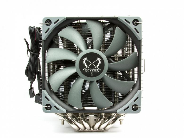 Процессорная система охлаждения Scythe Fuma 2 весит 1 кг и стоит 46 евро
