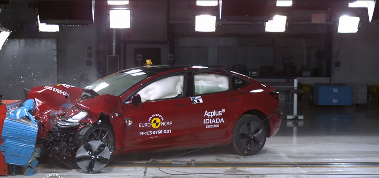 Tesla Model 3 — недостижимый лидер краш-тестов Euro NCAP по возможностям активных систем безопасности
