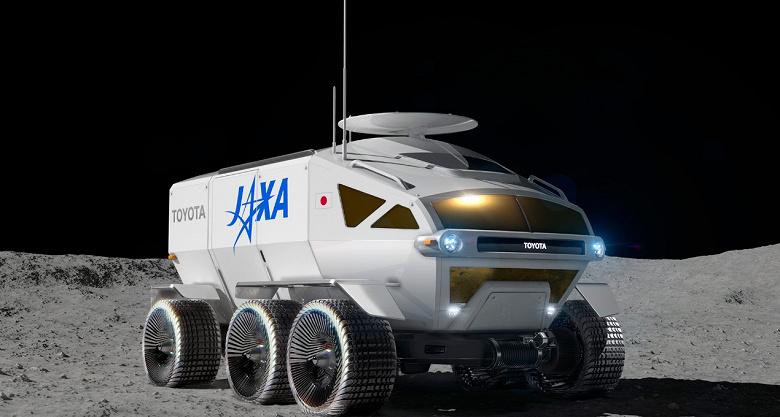 Toyota поможет создать ровер для пилотируемых поездок по Луне