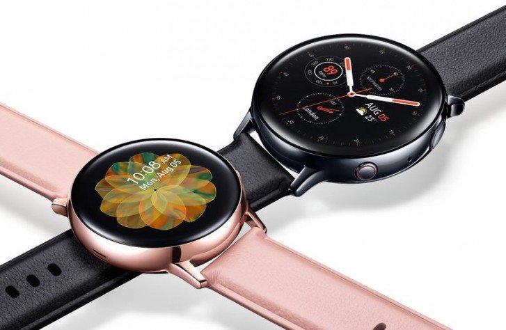 Сенсорный безель, Bluetooth 5.0, снятие ЭКГ и SoC Exynos 9110. Умные часы Samsung Galaxy Watch Active 2 рассекречены до анонса
