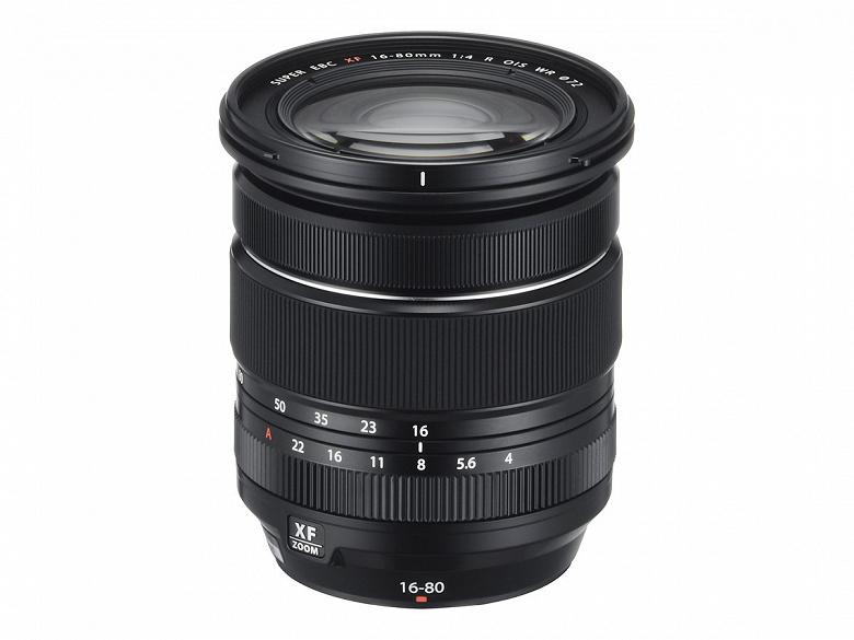 Анонсирован выпуск объектива Fujinon XF16-80mmF4 R OIS WR