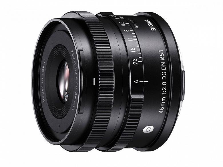 Объектив Sigma 45mm F2.8 DG DN Contemporary будет выпускаться в вариантах с креплениями L и E