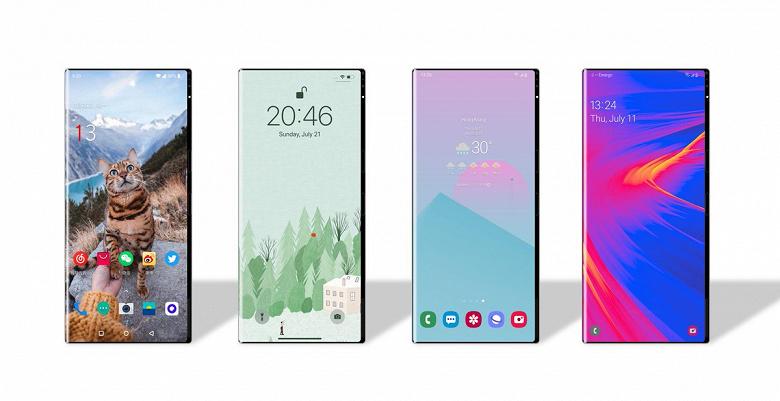 Ice Universe показал смартфон с совершенно новым дизайном