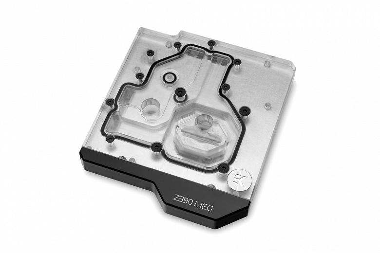 Водоблок EK-Momentum MEG Z390 ACE стоит 140 евро