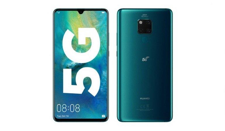 Huawei представила 1-ый смартфон 5G для коммерческого применения