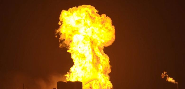Испытания корабля SpaceX Starhopper не обошлись без возгорания