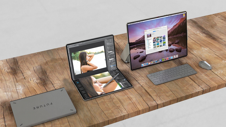 Вместо MacBook. Apple приписывают намерение выпустить большой гибкий планшет уже в следующем году