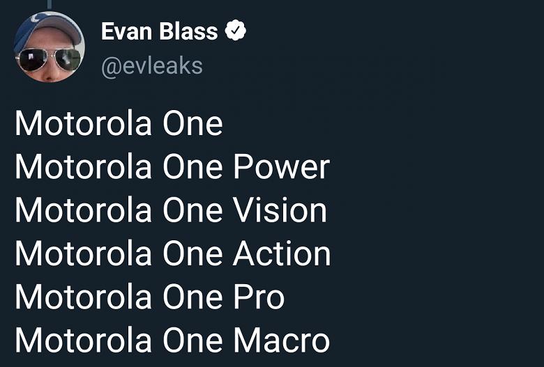 Motorola One Macro — еще один смартфон обновленной линейки. Первое изображение Motorola One Action