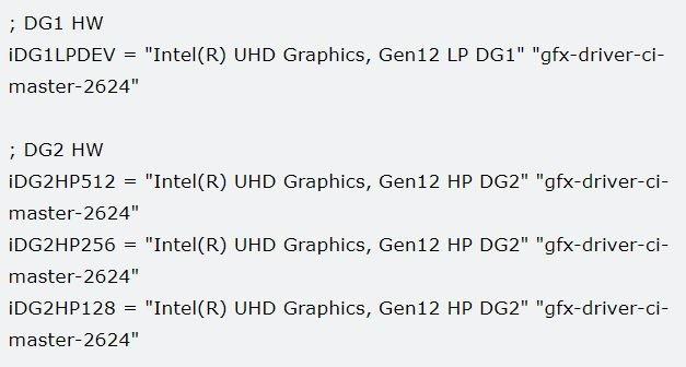 Intel готовит четыре модели дискретных видеокарт XE, топовая имеет 512 исполнительных блоков