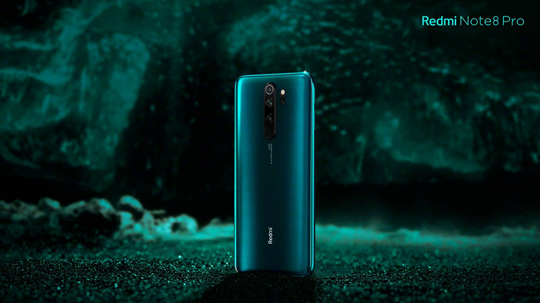 Redmi Note 8 Pro в цвете Ice Jade красуется на официальном изображении