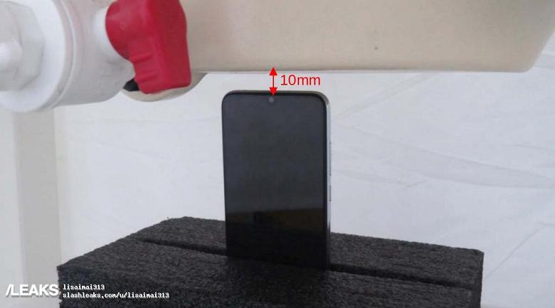Фотографии Redmi Note 8 с тестового стенда