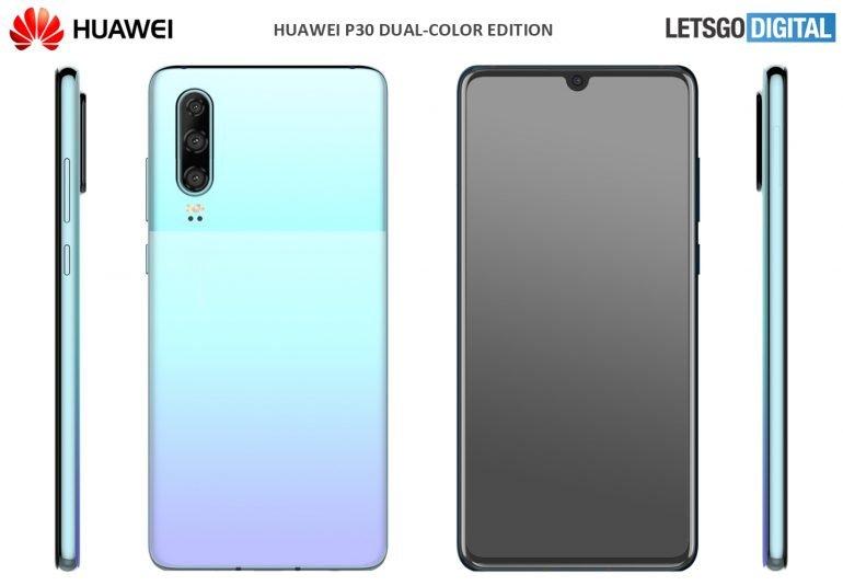 Почти как Google Pixel. Популярный камерофон Huawei P30 станет двухцветным
