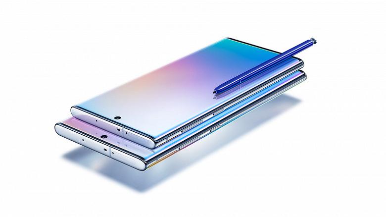 Samsung Galaxy Note10 получил первое обновление