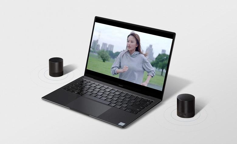 Портативная акустическая система Huawei Mini Speaker может работать без подзарядки до четырех часов