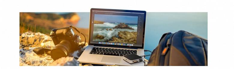 OWC USB-C Travel Dock — небольшой концентратор портов, способный передавать до 100 Вт мощности