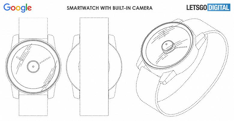 Умные часы Google Pixel Watch получат камеру в центре экрана