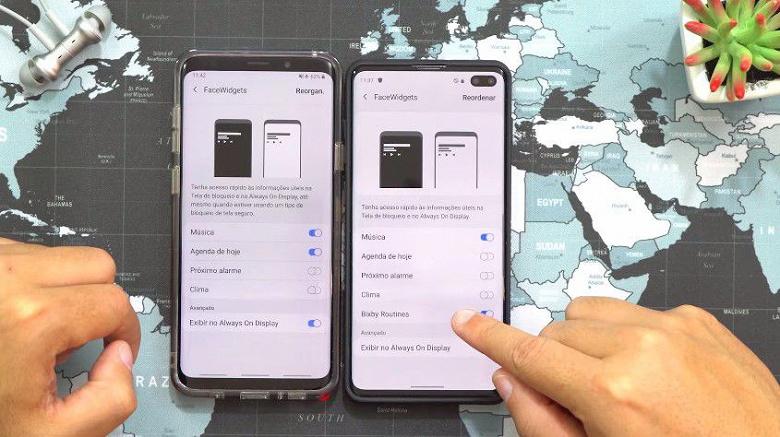 Видео дня: флагманский Galaxy S10+ с новым интерфейсом Samsung One UI 2.0 на основе Android 10