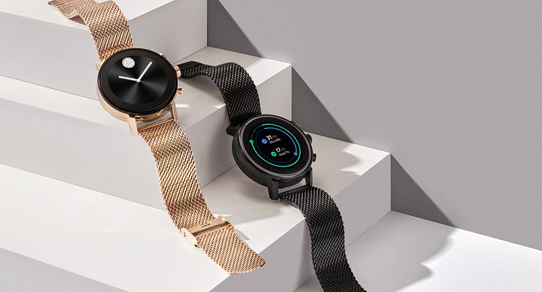 Умные часы Movado Connect 2.0 оснащены пульсометром