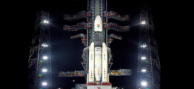 Индия потеряла связь с лунным посадочным модулем миссии Chandrayaan-2 перед посадкой