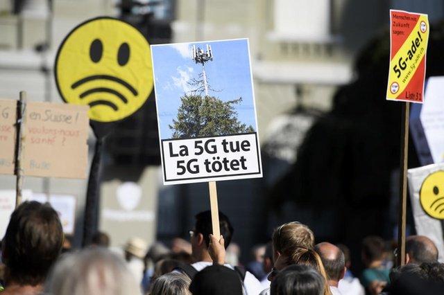5G не пройдёт! В Швейцарии протестуют против внедрения сотовых сетей пятого поколения