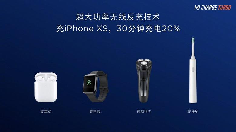 Xiaomi представила самую быструю технологию беспроводной зарядки Xiaomi Mi Charge Turbo