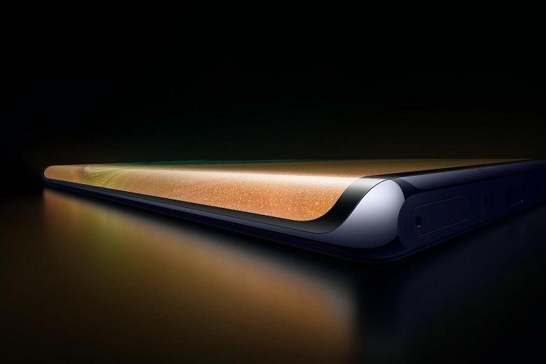 Новое изображение позволяет понять, как сильно экран Huawei Mate 30 Pro будет заходить на боковые грани