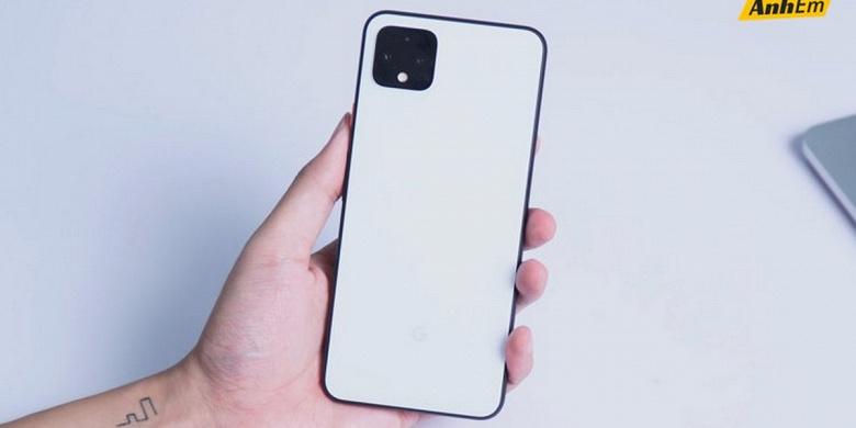 Google Pixel 4 XL 5G появился в Сети