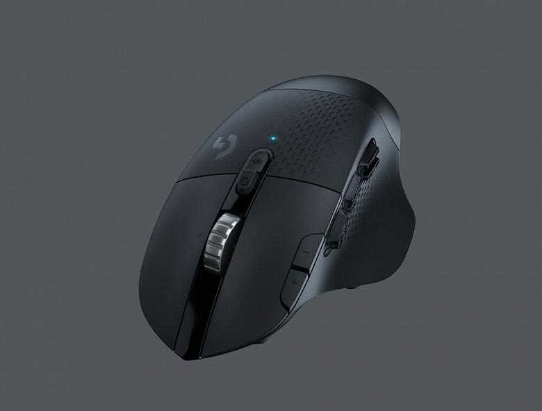 Игровая мышь Logitech G604 Lightspeed поддерживает два варианта беспроводного подключения