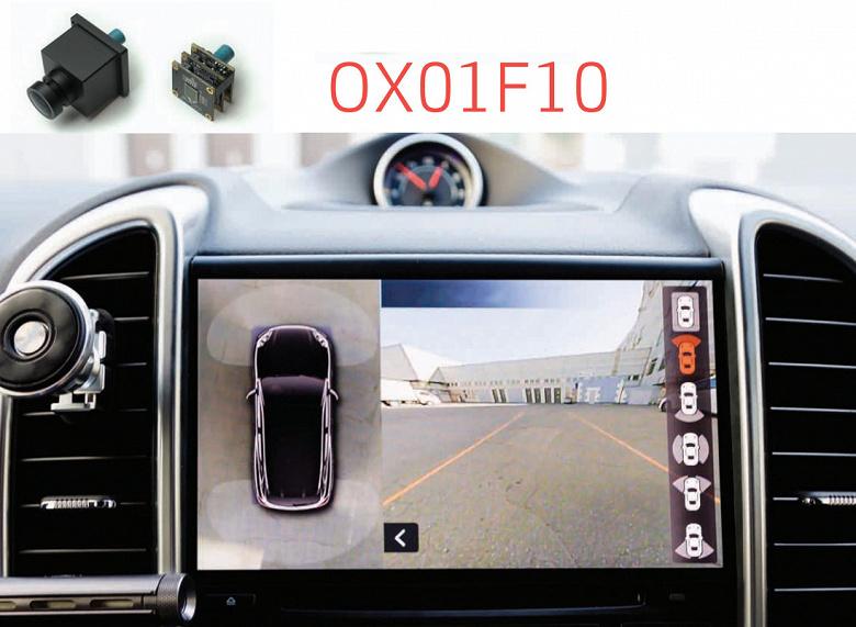 Однокристальная система OmniVision OX01F10 совмещена с датчиком изображения