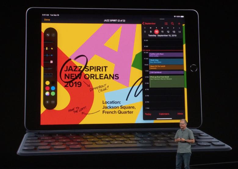 Больше и быстрее. Apple представила iPad седьмого поколения