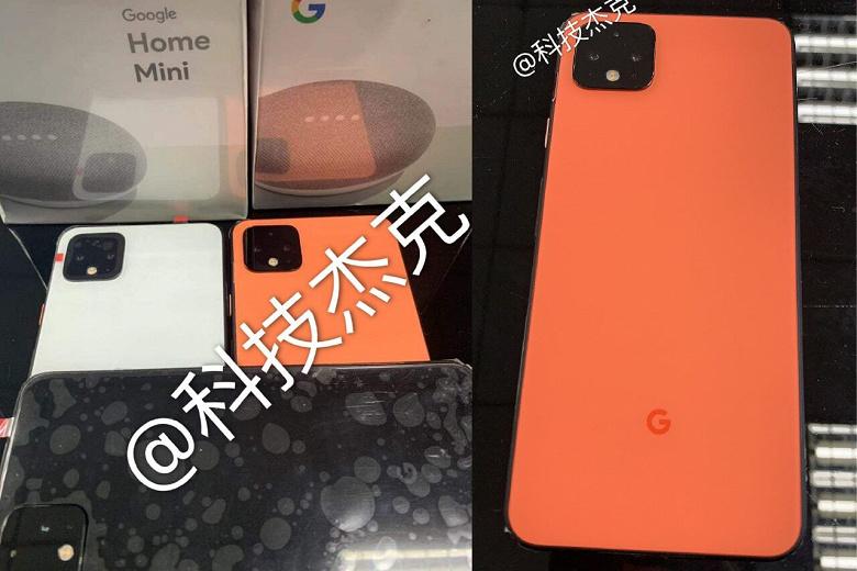 Новый вариант смартфона Google Pixel 4 попал на видео