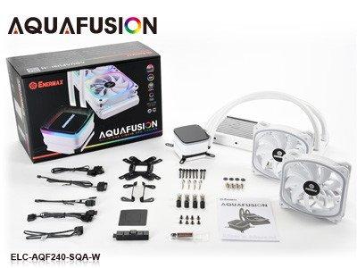 Для любителей белого. Enermax выпускает новые варианты систем жидкостного охлаждения серии AquaFusion ARGB