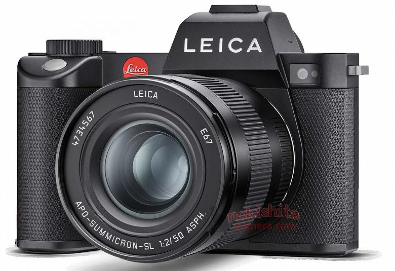 Появились первые изображения камеры Leica SL2 и ее предварительные спецификации