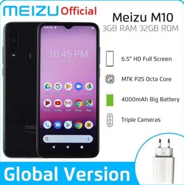 Таинственный смартфон Meizu M10 на платформе MediaTek появился на Aliexpress, но его нет на официальном сайте компании